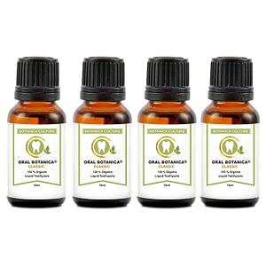 4 bottles oral botanica