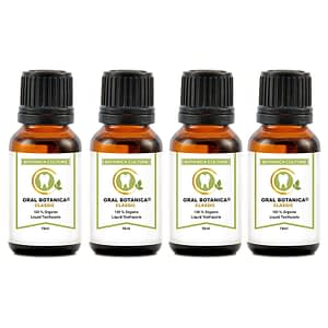 4 bottles oral botanica